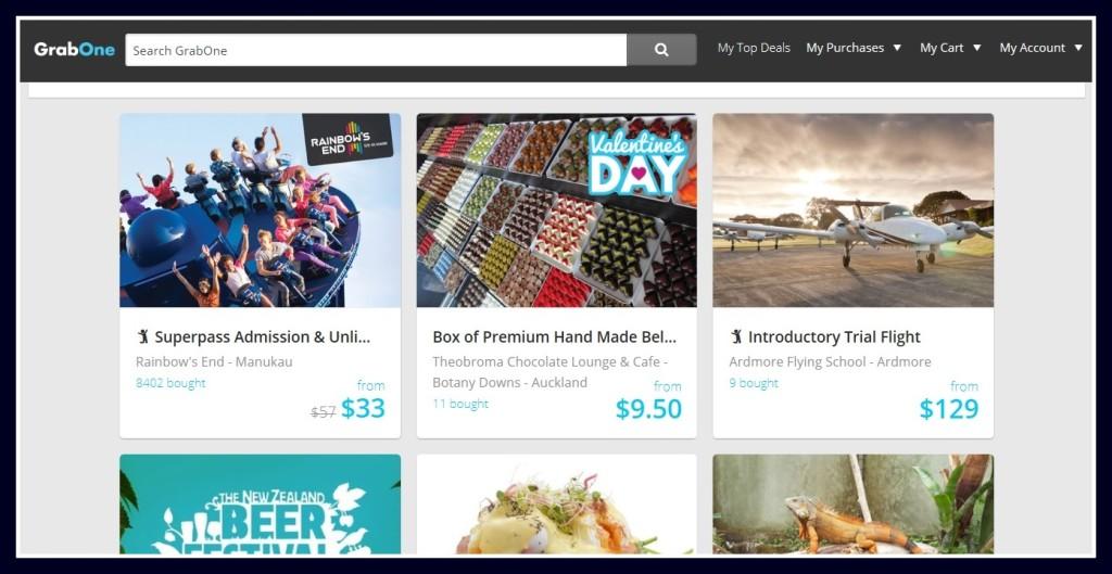 grab one ニュージーランド ディスカウント クーポン 割引 チケット オンライン app アプリ