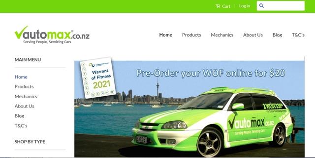 s-autmax ad オートマックス WOF 割引 クーポン 格安 安い ニュージーランド オークランド
